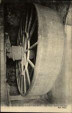 Mont Saint-Michel France CPA ~1910/20 Abbaye La route monte-charges Großes Rad