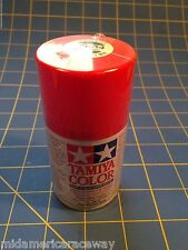 Tamiya PS-34 Bright Red Polycarbonate Spray Paint # 86034 Mid-America