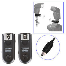 Yongnuo RF-603 II Wireless Flash Trigger for Nikon Pentax Olympus Panasonic Sony