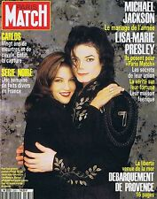 COUVERTURE DE MAGAZINE PARIS MATCH 2361 25/08/94 MICHAEL JACKSON LISA PRESLEY