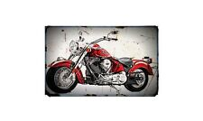 2012 Indian Chief Bike Motorcycle A4 Retro Metal Sign Aluminium