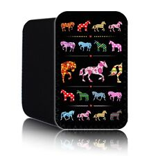 'Rétro Cheval' Mode Coque pour Amazon KINDLE FIRE 17.8cm Pochette Tablette RU