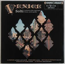 VENICE: Solti RCA LIVING STEREO LSC-2313 Classic Records 180g OOP LP NM