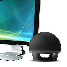 Super Bass Ball Shape Mini Single Stereo USB Speaker for Computer Desktop L