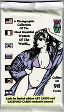 Women of the World Trading Card Pack