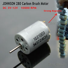 DC 6V 12V JOHNSON 280 Super Magnetic Motor Small 24mm Mini Motor Hobby Toys DIY