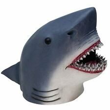 Gray Shark Mask Movie  Quality Fish Mask Dress Party Animal Halloween
