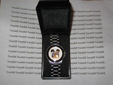 MICKEY MOUSE Disney Channel  Stainless Steel MENS WATCH 1142 NEW IN BOX
