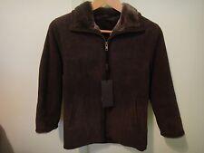 Boys Brown Brisa Shearling Jacket