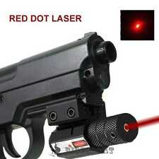 Tactical Red Dot Laser Sight 20mm Picatinny Weaver Rail Mount Pistol Gun Airsoft