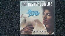 Michael Jackson - One day in your life 7'' Single FRANCE