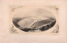 1845 Ca ANTIQUE PRINT-BARTLETT-JERUSALEM-AS BESIEGED BY TITUS