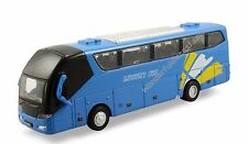 "8"" diecast model Coach Travel metro bus toy light and sound Blue #149"