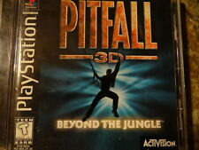 PS1 Pitfall 3D: Beyond the Jungle Complete Sony PlayStation 1 1998