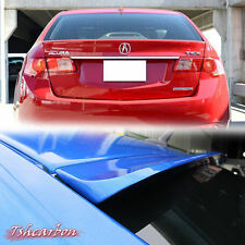 PAINTED ALL COLOR FOR ACURA TSX CU2 REAR SALOON WINDOW ROOF SPOILER WING 09-12 ◣