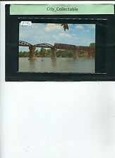 P790 # MALAYSIA 1960's USED PICTURE POST CARD * BRIDGE ON THE RIVER KWAI