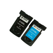 Ink Cartridge for Canon PIXMA MP480 MP490 MP495 MP499(1 Black 1 Color)