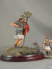 120mm Roman Legionary Eagle Standard Bearer Aquilifer model figure miniature