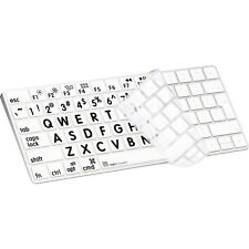 Logickeyboard LOGICSKIN XL Print Black on White - Apple Magic Keyboard Cover