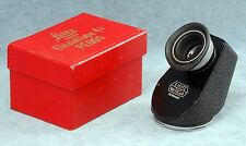 "LEITZ LEICA EINSTELLUPE 45 DEGREE 4X VIEWFINDER ""PEGOO"" IN BOX FOR VISOFLEX I"
