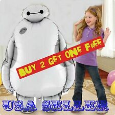 Disney Big Hero 6 Baymax Birthday Party Jumbo Supershape Mylar Foil Balloon 31""