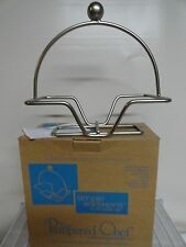 Pampered Chef Small bowl wire caddy  Simple Additions IOB gray # 1946