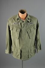 Vtg US Army 1969 Dated Ripstop Vietnam War Combat Jungle Jacket sz S #2172
