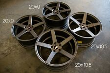20X9/10.5 STR607 Wheels 5X120 Gun Metal Rims Fits Bmw E90 325 330 335 2006- 2012