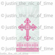 20x Christening PINK First 1st Communion Party Cellophane Loot Gift Cello Bags