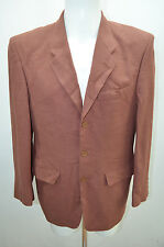JACQUES HEIM VESTE COSTUME 50 L MARRON JACKET CHAQUETA