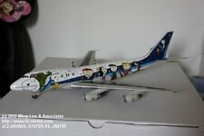 JC Wing All Nippon Airways ANA Boeing 747-400 Snoopy Color Diecast Model 1:200