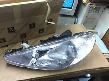 peugeot 206 genuine left hand drive headlamp 6204s7 valeo