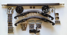Single Axle UN-BRAKED OFF ROAD Trailer Kit 1400kg Rating! TRAILER PARTS