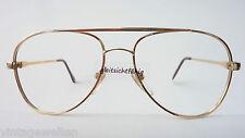 Opjura 70er Jahre Fassung Aviator Metallgestell Herrenbrille frame GR:M 54-16