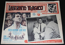 The Spiral Road Mexican VHTF Lobby Card - Rock Hudson (C5/C6) 1962