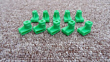 LOTUS Plastic Grommet Nut for Screws- Bumper to Wing/Headlight Grille 10Pcs