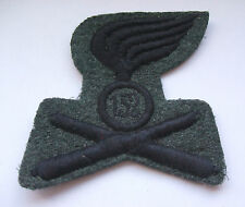 2ww vintage  italian 152 artillery regt large cloth unit patch