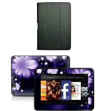 Genuine Leather Case Cover for Amazon Kindle Fire HD 8.9 inch+Skin Accessory B01