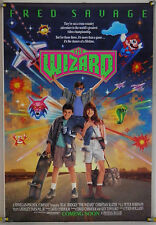 THE WIZARD DS ROLLED ORIG 1SH MOVIE POSTER FRED SAVAGE VIDEO GAME NINTENDO(1989)