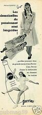 A - Publicité Advertising 1954 Eau Perrier