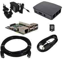 Raspberry Pi 3 - QUAD Core Official BLACK Case 8GB Starter Bundle (2016 Model)!