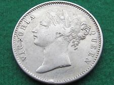 BRITISH INDIA 1840 ONE RUPEE BEAUTIFUL RARE SILVER COIN