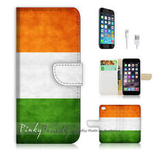 iPhone 6 6S Plus (5.5') Flip Wallet Case Cover! P0008 Ireland Flag