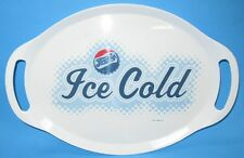 Pepsi Cola Oval Serving Tray with Handles Ice Cold Pepsi Retro Logo