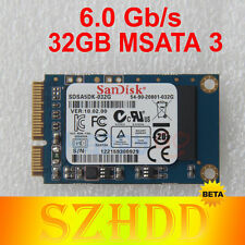 32GB SanDsik MSATA Mini PCI-E SATA III 6.0gb/s Solid State Drives SSD For Laptop