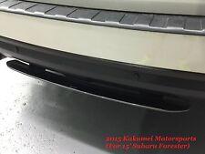 Rear Under Spoiler Sti Style Silver FIT 2014+ Subaru Forester SJ 2.0L 2.5L 2015