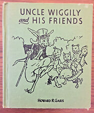VINTAGE 1955 UNCLE WIGGILY AND HIS FRIENDS by Howard R. Garis Hard Cover