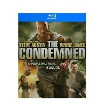 THE CONDEMNED NEW BLU RAY FILM MOVIE WWE STONE COLD STEVE AUSTIN,VINNIE JONES