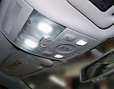 4 ampoules à  LED  BLANC pour le plafonnier avant + Liseuses pour AUDI A4 B7