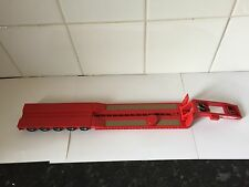 CORGI HEAVY HAULAGE Red King Low Loader 5 Axle Morris Leslie